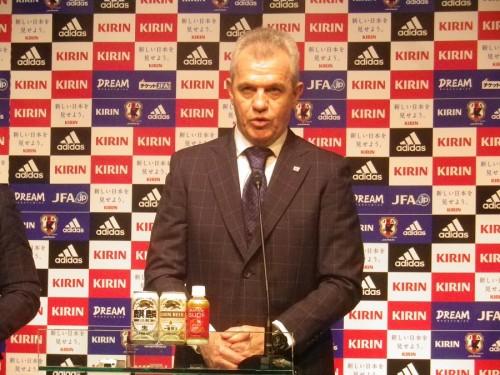 アジアカップ前に日本代表アギーレ監督「連覇のための23人を選ぶ」