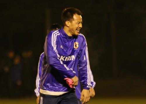 充電完了の日本代表FW岡崎慎司「すごいパワーをもらってきた」