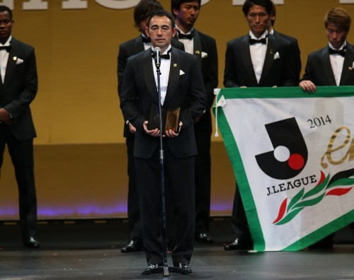 J1最優秀監督賞、優勝導いたG大阪の長谷川健太監督が初受賞