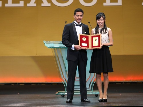 若手最優秀選手は鹿島MFカイオが選出…外国籍選手の受賞は史上初