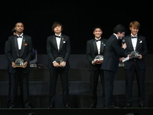 ベスト11、G大阪とFC東京が最多3名…遠藤は歴代最多11度目