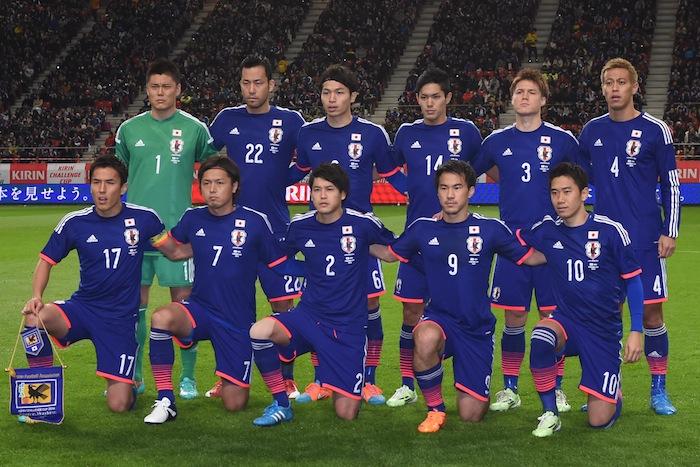 日本代表各カテゴリ、2015年の年...