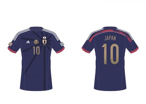 アジア杯日本代表ユニが発表…ゴールドナンバーのチャンピオン仕様