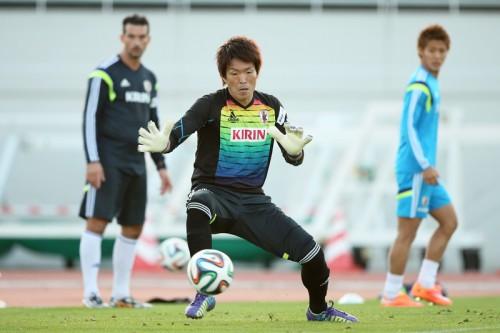 アジア杯に向け意気込むGK西川「チームの勝利に貢献できるように」