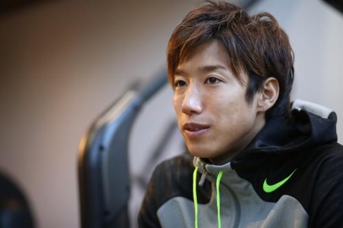 3年半ぶりの日本復帰へ抱負を語る大津「海外の感覚でプレーしたい」