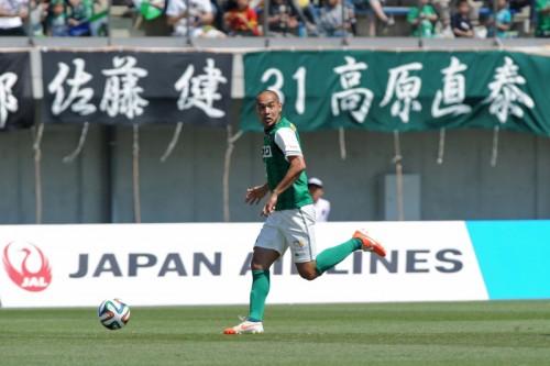 東京Vの元代表FW高原が契約満了…今季は3月から相模原でプレー