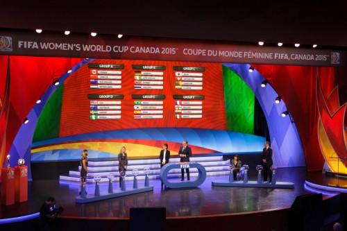女子W杯組み合わせ決定…日本はスイス、カメルーン、エクアドルと