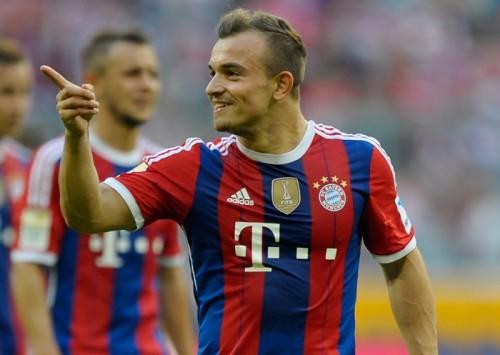 ユーヴェら狙うスイス代表シャキリ、バイエルンは契約を延長せずか