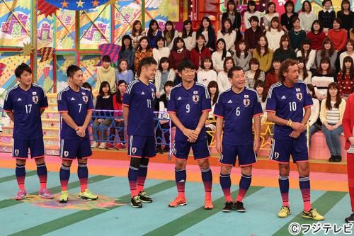 ラモス率いる元日本代表チームが『VS嵐』に出演…2月5日放送