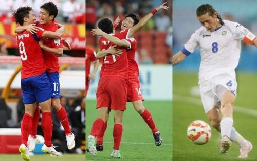 韓国と中国、ウズベクが白星発進…全て1点差の接戦/アジア杯第1節