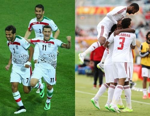 イランがC組全勝で首位突破、UAEが2位で決勝Tに進出/アジア杯