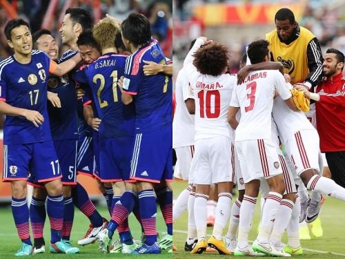 日本代表はアジア杯ベスト8でUAEと対戦…過去16試合の対戦成績は?
