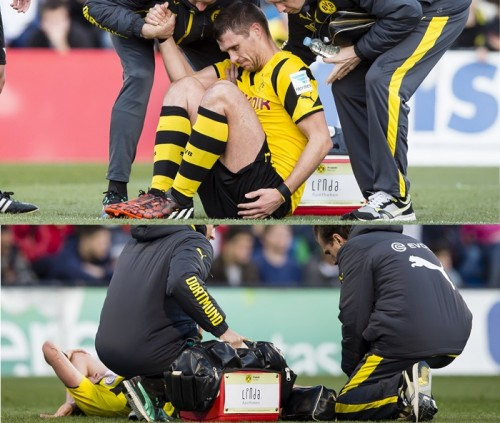 香川不在のドルトに痛手…ケールとグロスクロイツが練習試合で負傷