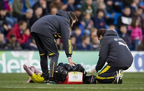 ドルトムントMFグロスクロイツは全治1週間…練習試合で左足首負傷