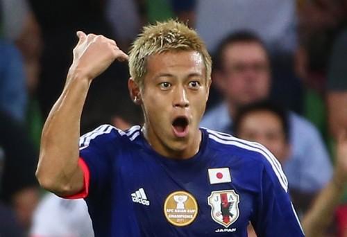 ミラン公式SNS、3試合連続ゴールの本田を祝福「よくやった!」