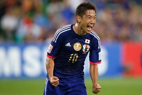 代表9戦ぶりにゴールを決めた香川真司「みんなに支えてもらった」