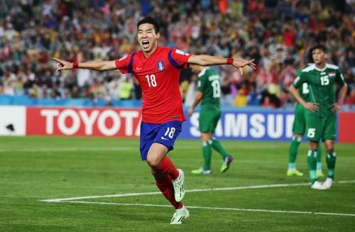 韓国が5試合連続の完封勝利…7大会ぶりのアジアカップ決勝進出