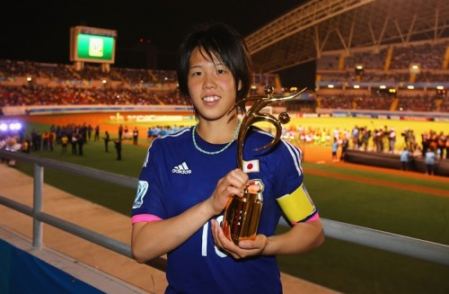 U-17W杯MVP、藤枝順心高MF杉田妃和がINAC神戸へ入団