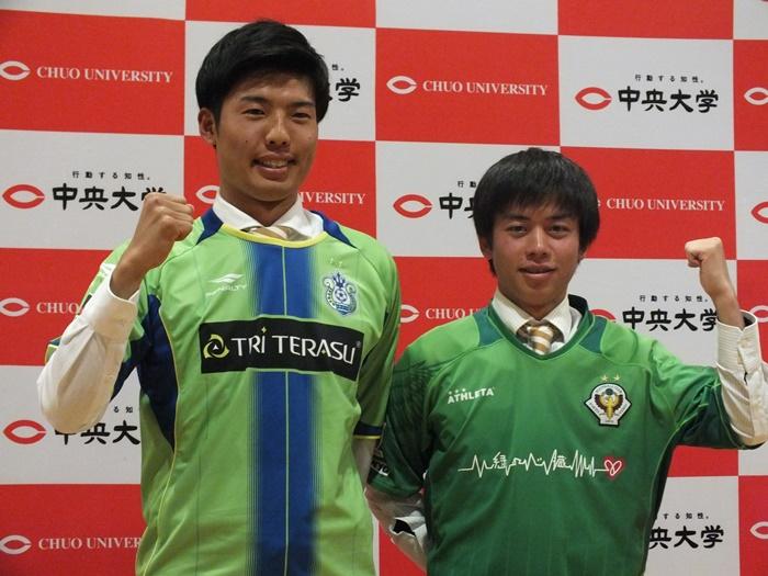 岡崎亮平(左),渋谷亮(右)
