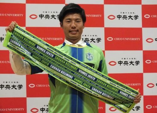 代表目指す、湘南加入のDF岡崎「アイツがいれば大丈夫と思われたい」