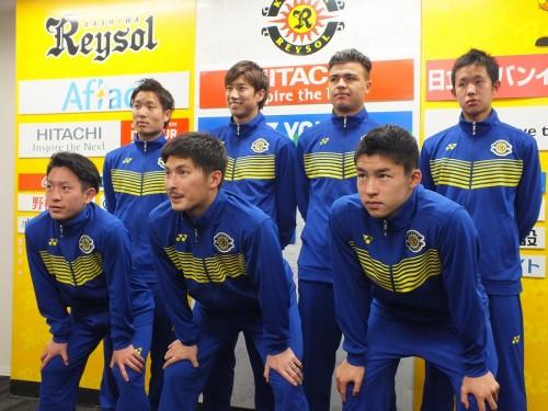 吉田達磨新体制の柏、新入団7選手が会見…大津「チームを勝たせたい」