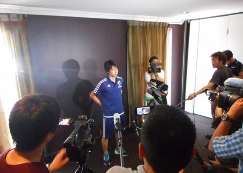 柴崎、インフルから回復して日本代表に合流…豊田含め23選手揃う