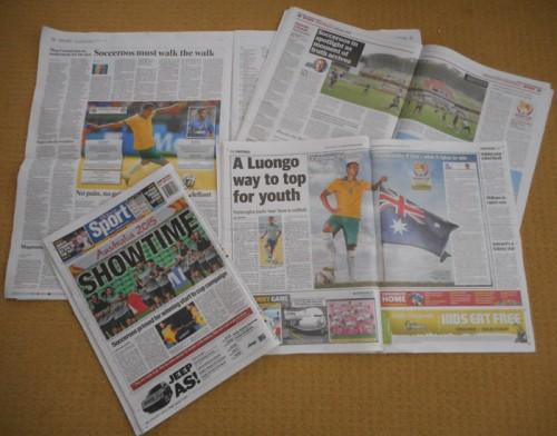 アジアカップがオーストラリアで今日開幕…地元紙も盛り上げに一役