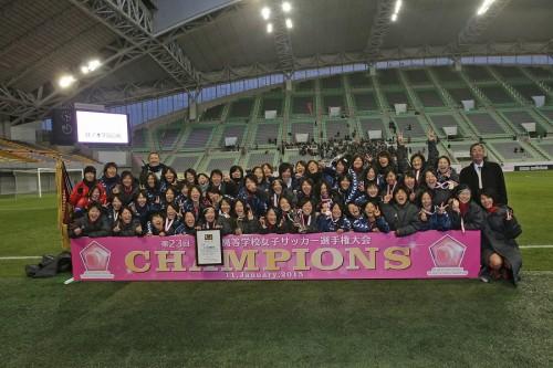 日ノ本が高校女子選手権2連覇…PK戦で常盤木を破り2年連続の夏冬2冠