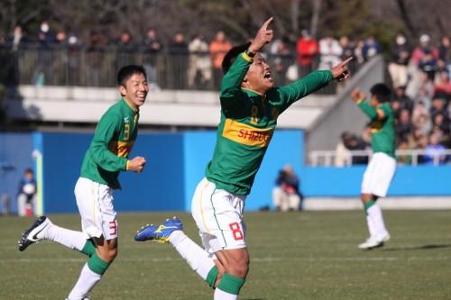 静岡学園が3発快勝…インハイ王者・東福岡を下しベスト8進出
