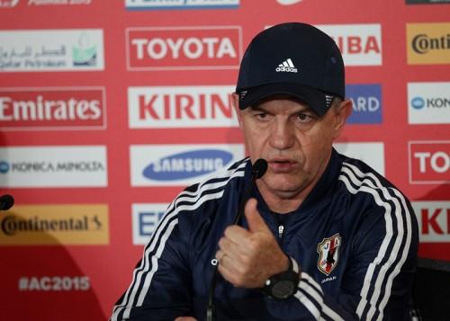 アギーレ監督、イラク戦に集中「私はサッカーの話しかしない」