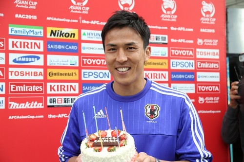 アジア杯中に31歳迎えた長谷部「優勝して良い月にしたい」