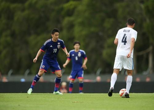 先発出場した香川「最後の詰めが甘かった。2-0は物足りない」