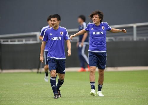 日本代表、非公開の練習試合で7ゴールの大勝