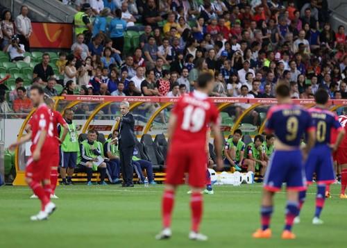 明日、アジア杯準々決勝…アギーレ監督「勝てる力はある」