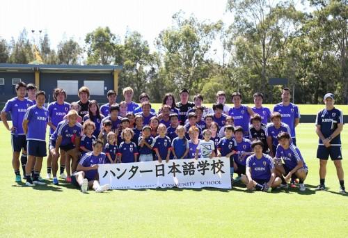 豊田と柴崎が合流…日本代表、初めて全選手で練習を実施