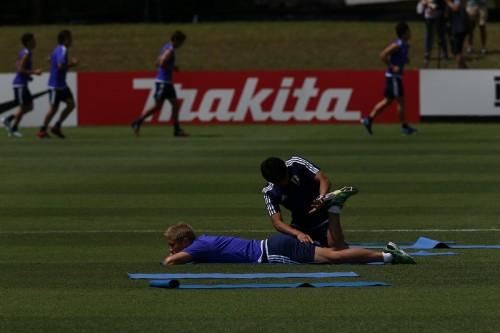 初戦大勝も難敵イラクを警戒する本田「理想通りいかないのがサッカー」