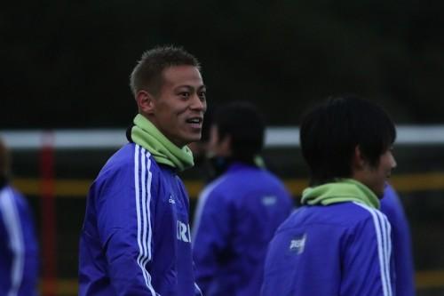 連覇に向け正月返上の練習に本田「自分は日本人なんで、元日は特別」