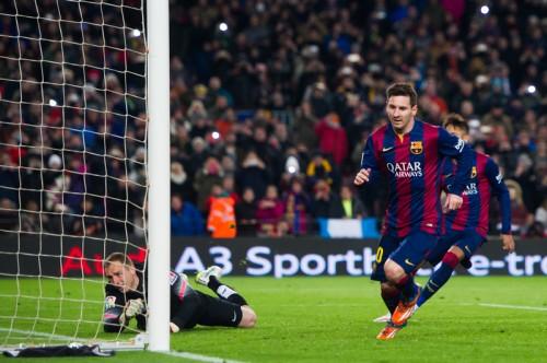 バルセロナ、メッシの決勝弾で先勝…ホームでアトレティコを撃破