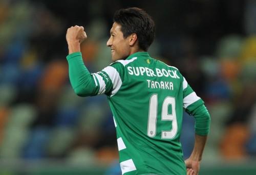 田中順也が公式戦3試合連続ゴール…スポルティングはリーグ4連勝