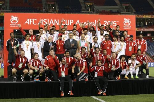 後半2ゴールで逆転…UAEがイラクとの接戦を制しアジア杯3位