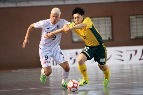 Fリーグ2014/2015第31節名古屋セントラル……2試合を残して名古屋のプレーオフ1位通過が確定