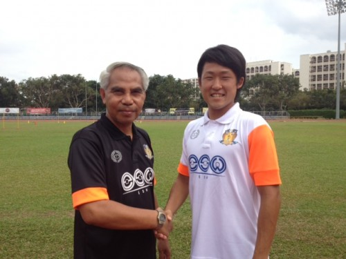 シンガポール1部のホーガン・ユナイテッドFCに山口廉史に加入決定
