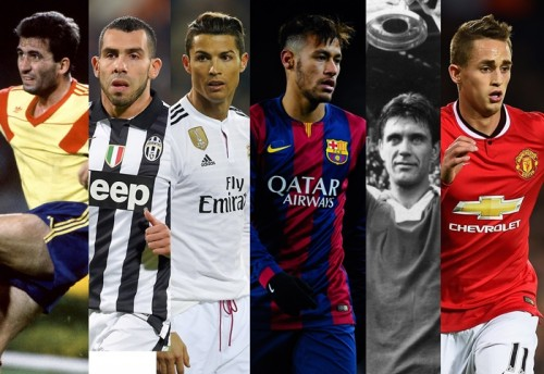 同じ誕生日の5人でサッカーをしたら…最強はCR7、ネイマール、テベスチーム?