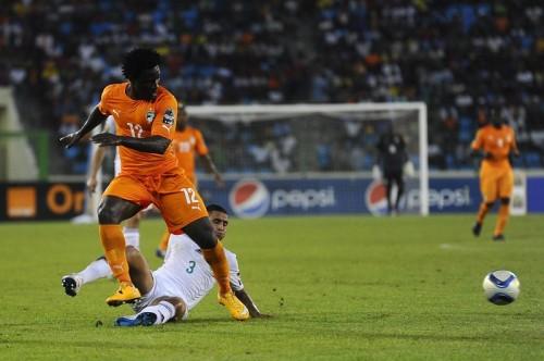 マンC移籍決定のボニー2得点…コートジボワールがアフリカ杯4強