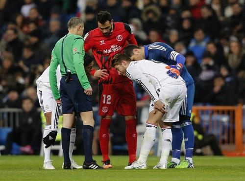 レアルのセルヒオ・ラモス、ハムストリング損傷とクラブが発表