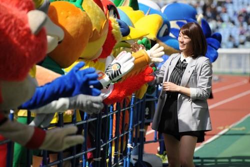 Jマスコット総選挙の最終結果が発表…広島のサンチェがセンター獲得(2015年)