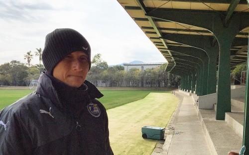 大分の田坂監督「充実のキャンプができている。スカパーさんに感謝」