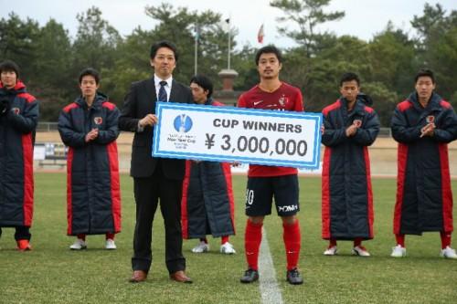 鹿島が福岡に勝利し「Jリーグ・スカパー!ニューイヤーカップ」の宮崎ラウンドを制す