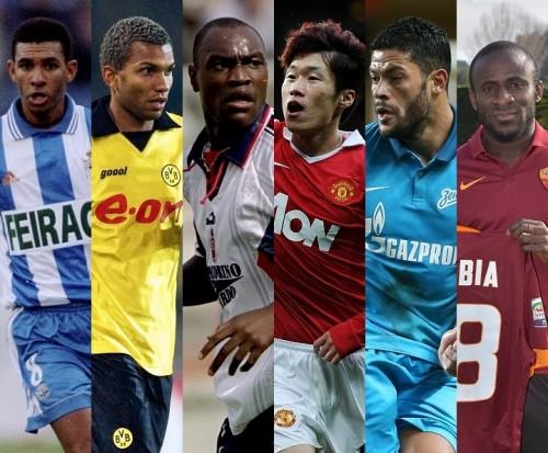 ●アモローゾ、フッキ、ドゥンビア…日本経由で欧州に羽ばたいた元Jリーガー外国人選手は?
