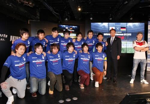 岡田武史氏が率いるウイイレ日本代表、世界王者を5ゴール粉砕